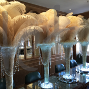 large-ostrich-feather-table-decoration