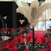 ostrich-feather-table-decoration-black-white-centrepiece-2
