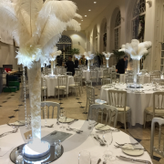 ostrich-feather-table-decoration-off-white-centrepiece