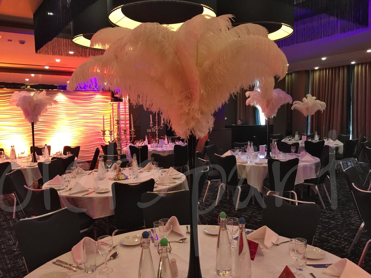 ostrich-feather-table-decoration-hilton-woking