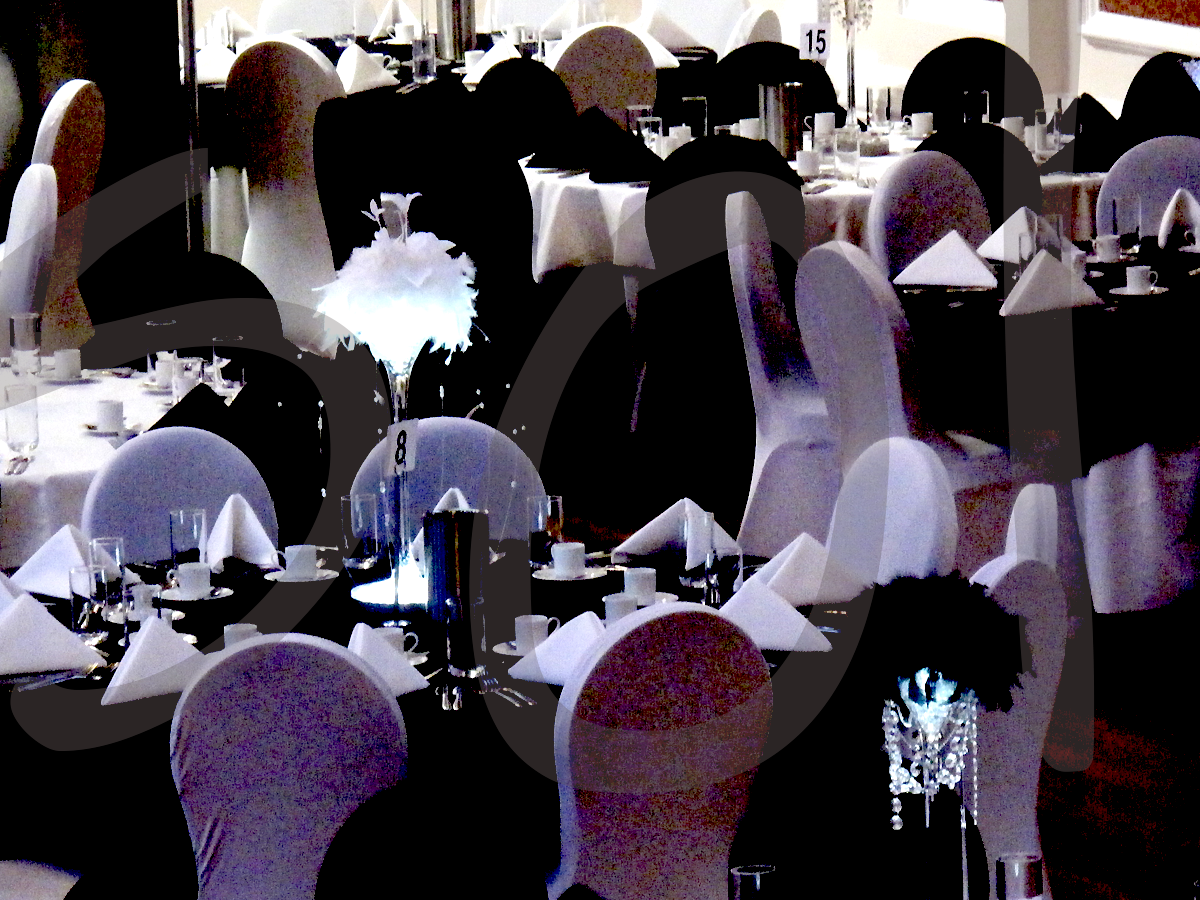 black-white-event-decoration