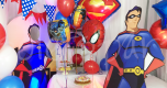 spiderman-themed-party-decorations