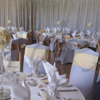 Crystal wedding decor so lets party chair cover sash accessory hire junglespirit Images