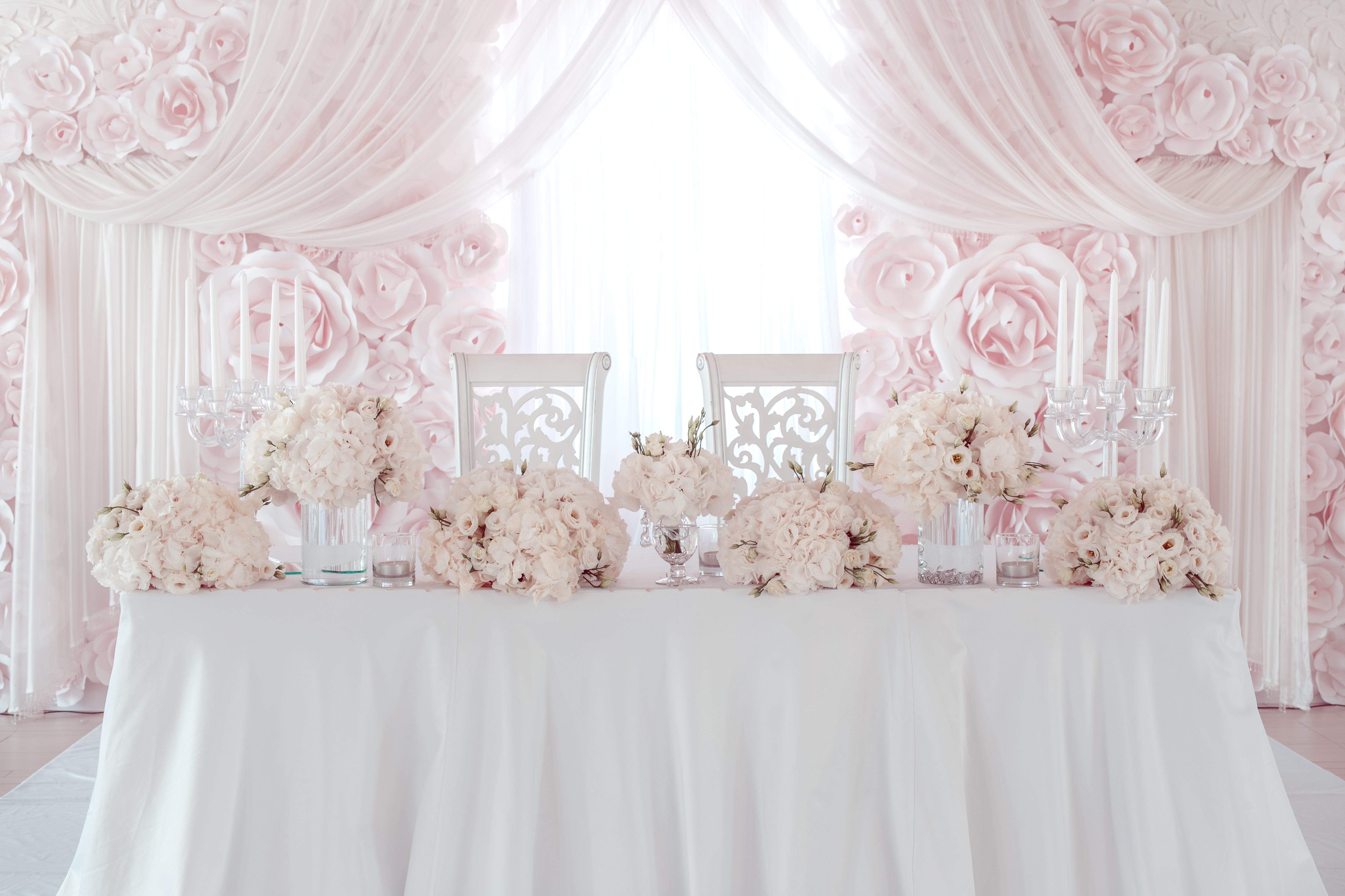 venue styling and theming decorations