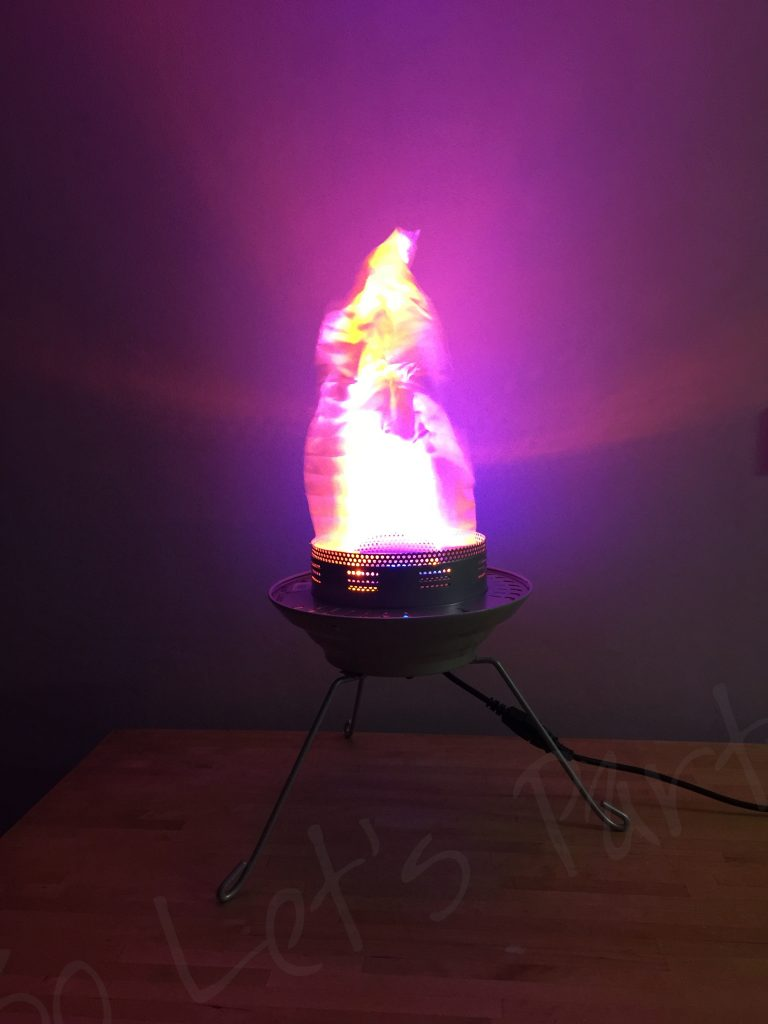 Small Flickering Flame Light Hire So Lets Party