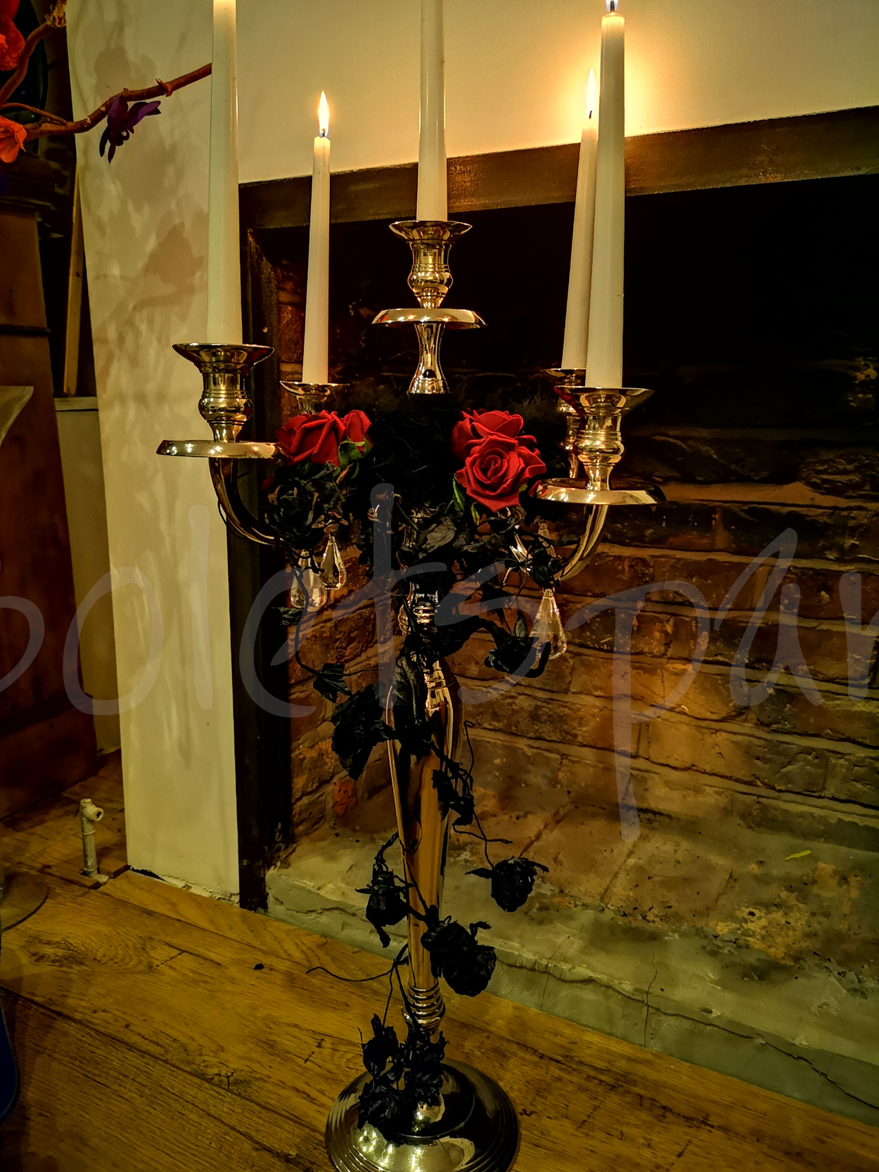 Halloween Themed Quot Candelabra Quot Table Decoration So Lets Party