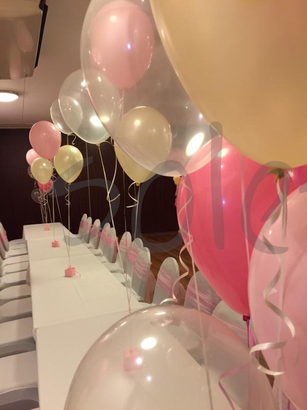 latex balloon decoration
