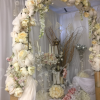 ivory-floral-arch-hire