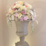 ivory-vintage-floral-arch-decoration-hire