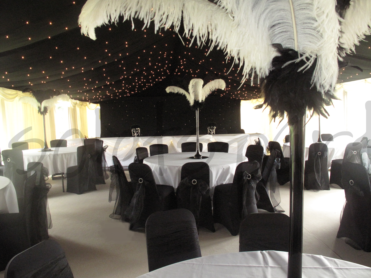 black-white-wedding-decoration