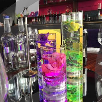 coloured-light-table-decoration