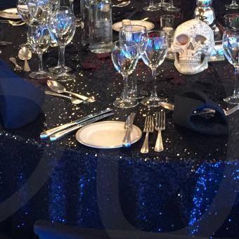 black-sequin-tablecloth