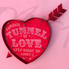 tunnel of love fairground sign square