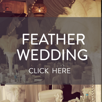Ostrich Feather Wedding